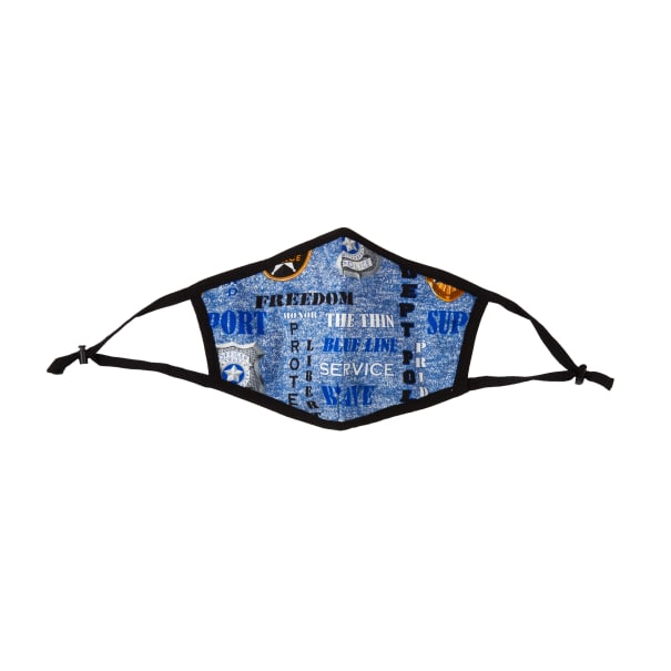 Police Department Cotton Face Mask