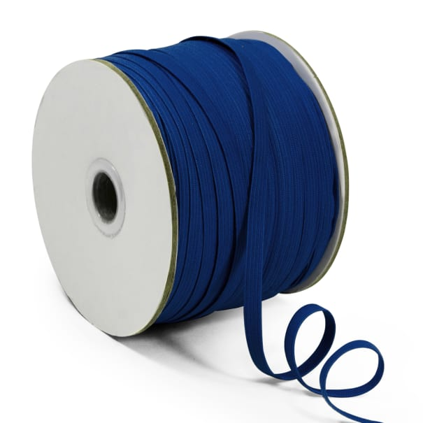 "1/4"" Elastic Band - 100 Yard Spool Navy Blue"
