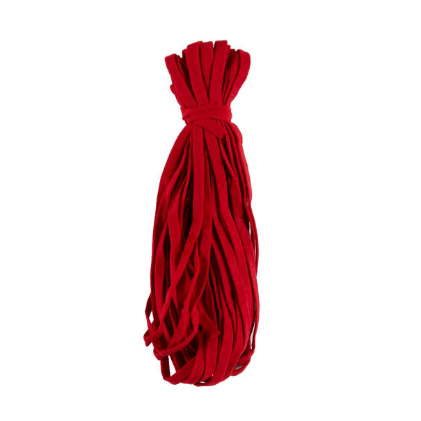 """1/4"""" Ultra Soft Knit Elastic Band  -  10 Yards Red"""
