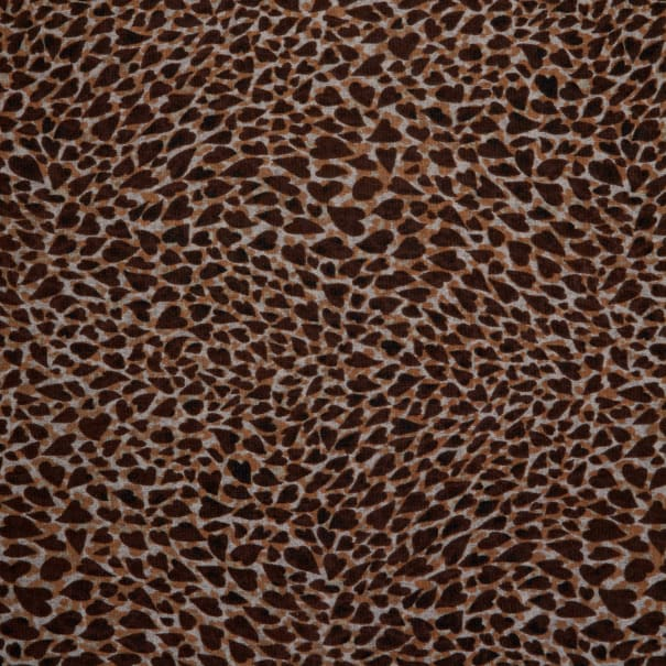 Fabtrends Sweater Knit Leopard Neutral