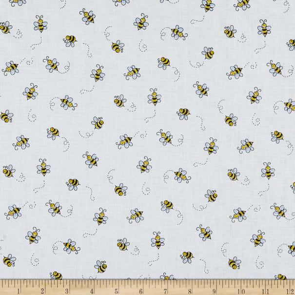 Andover Bumble Bee White
