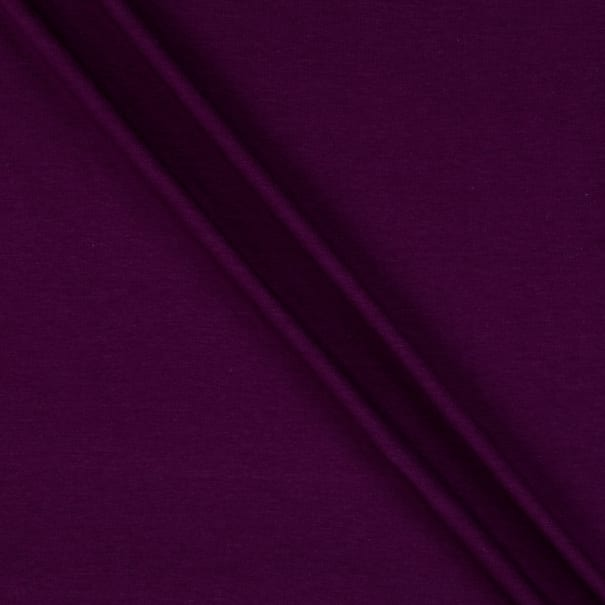 Telio Bamboo Rayon Cotton Stretch French Terry Knit Plum