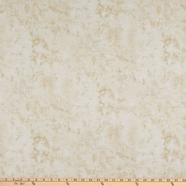 """108"""" Wide Back Flannel Marble Ivory"""