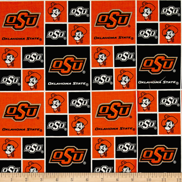 NCAA Oklahoma State Cowboys Broadcloth