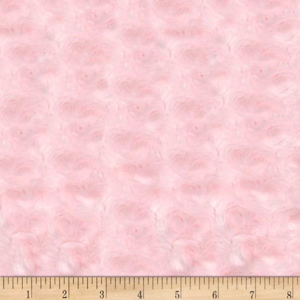 Shannon Minky Luxe Cuddle Rose Baby Pink