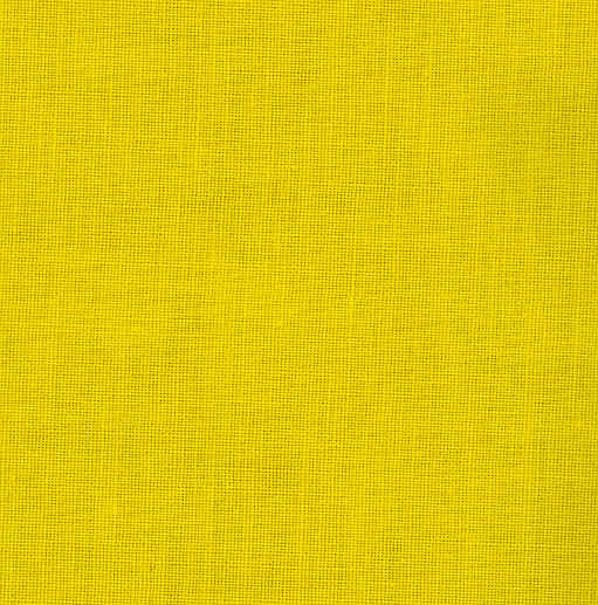 Cotton Broadcloth Bright Yellow