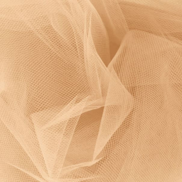 108'' Apparel Grade Tulle Melon