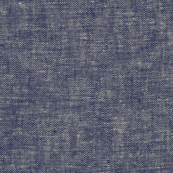 Kaufman Essex Yarn Dyed Linen Blend Denim-Blue