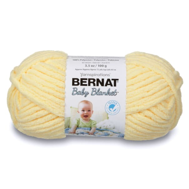 Bernat Baby Blanket Yarn (03615) Yellow