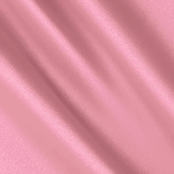 Silky Satin Charmeuse Solid Pink