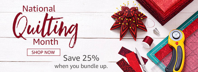 National Quilting Month Sale