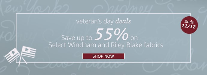 Save Up to 55% on Windham & Riley Blake