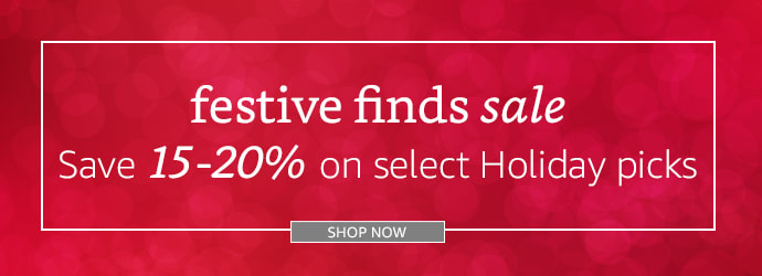 Festive Finds Sale