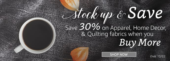 Fall Stock up Sale