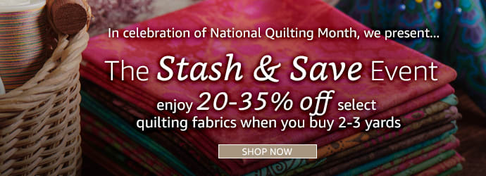 Stash and Save Sale