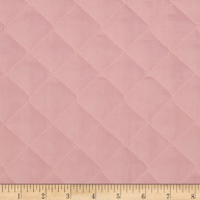 Double Sided Quilted Broadcloth Soft Pink Discount