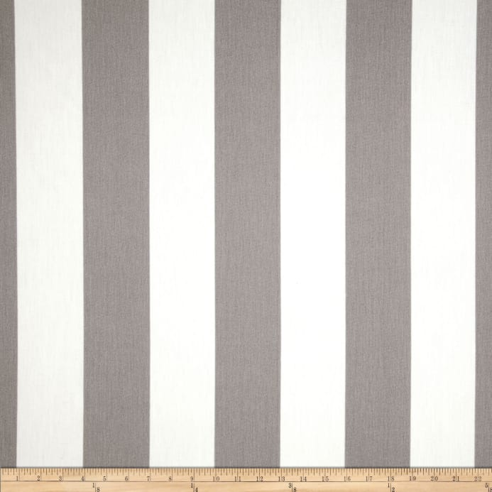 Premier Prints Indoor Outdoor Vertical Stripe Grey