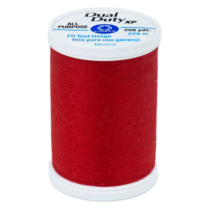 Coats Amp Clark Dual Duty Xp 250yd Candy Apple Discount