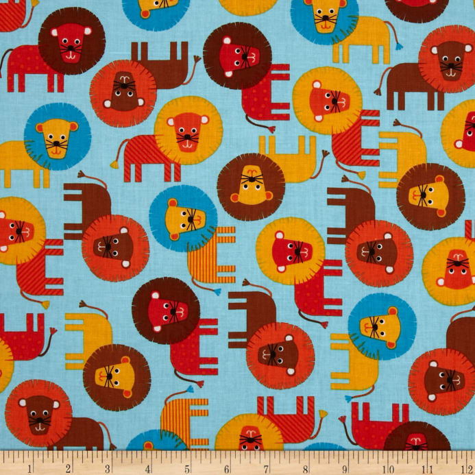 Urban zoologie discount designer fabric for Modern childrens fabric