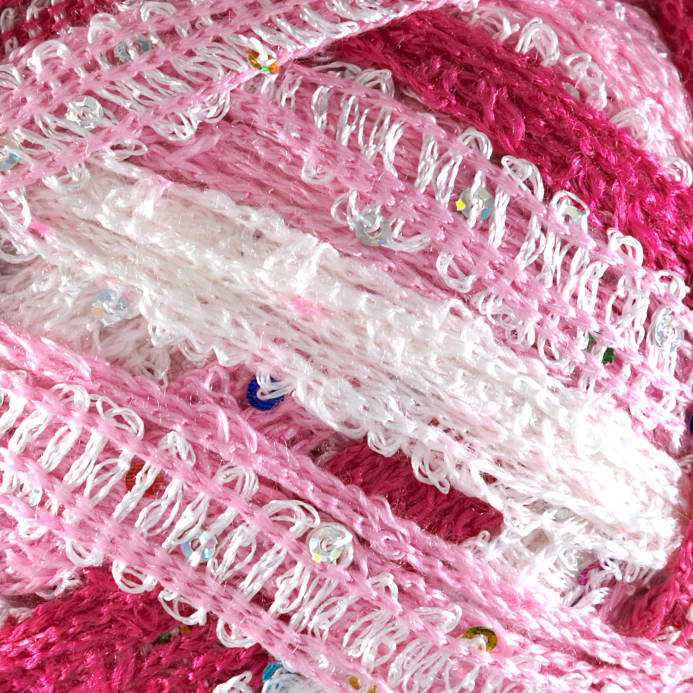 Red Heart Boutique Sashay Sequins Yarn Cotton Candy Discount