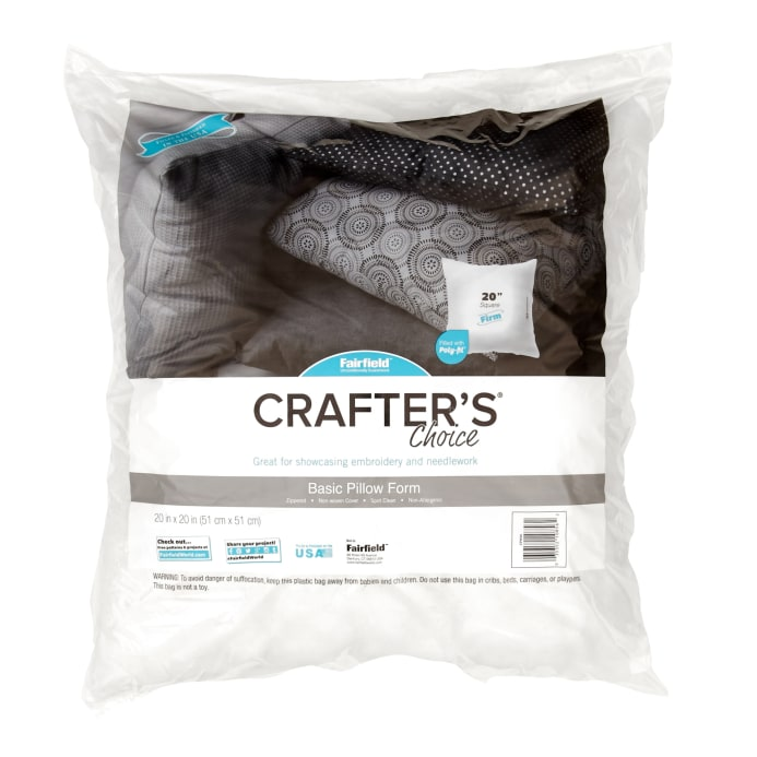 Fairfield Crafter S Choice Pillow 20 Quot Square Discount