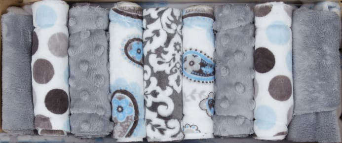 Shannon Minky Cuddle Quilt Kit Wee One Sweet Dreams Boy - Discount ... : minky baby quilt kits - Adamdwight.com