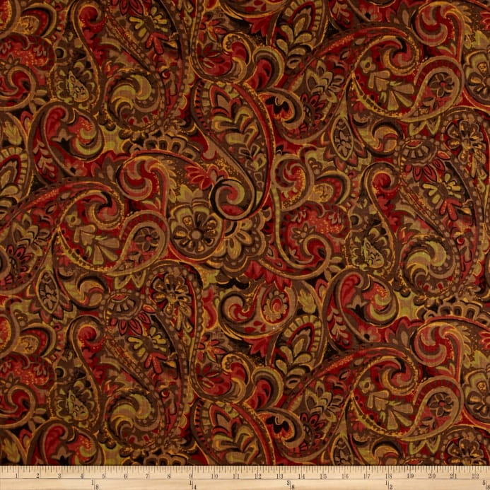Jaclyn Smith 02126 Paisley Blend Garden Spice Discount