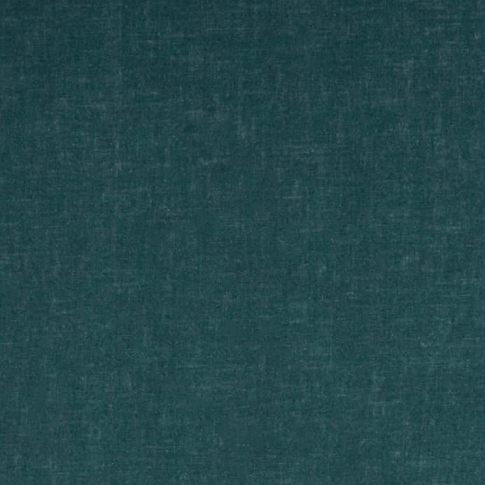 Contempo Hand Made Faux Linen Solid Dark Turquoise