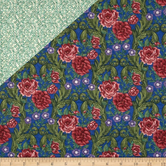 Bella Double Sided Quilted Roses Multi Discount Designer