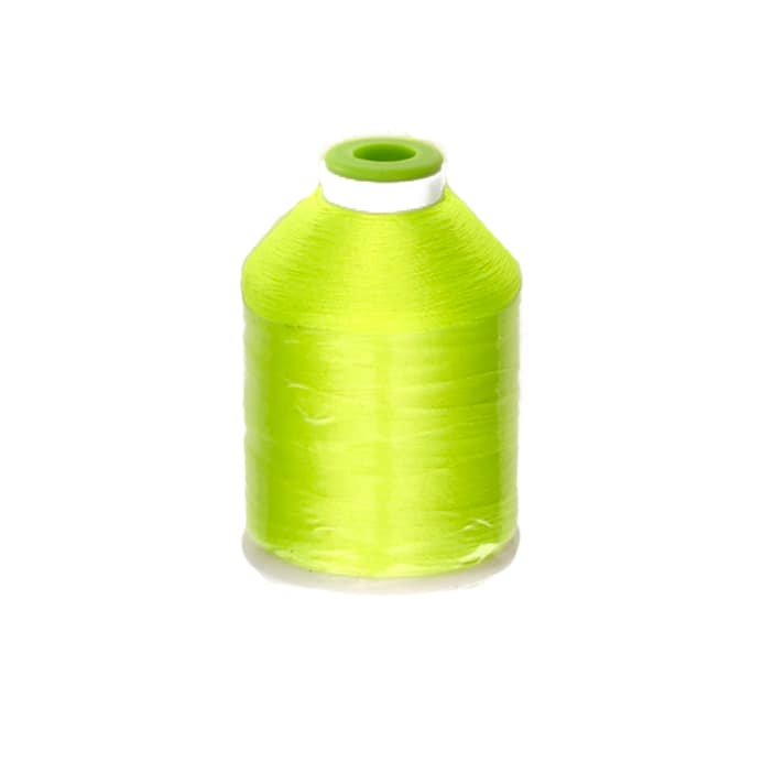 Coats Clark Trilobal Embroidery Thread 1100 Yd Neon Yellow