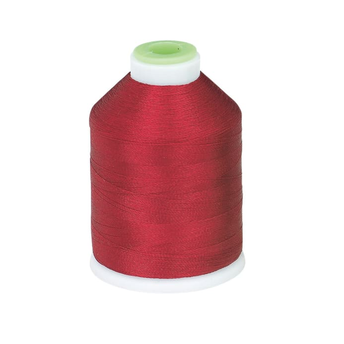 Coats & Clark Trilobal Embroidery Thread 1100 YD Crimson