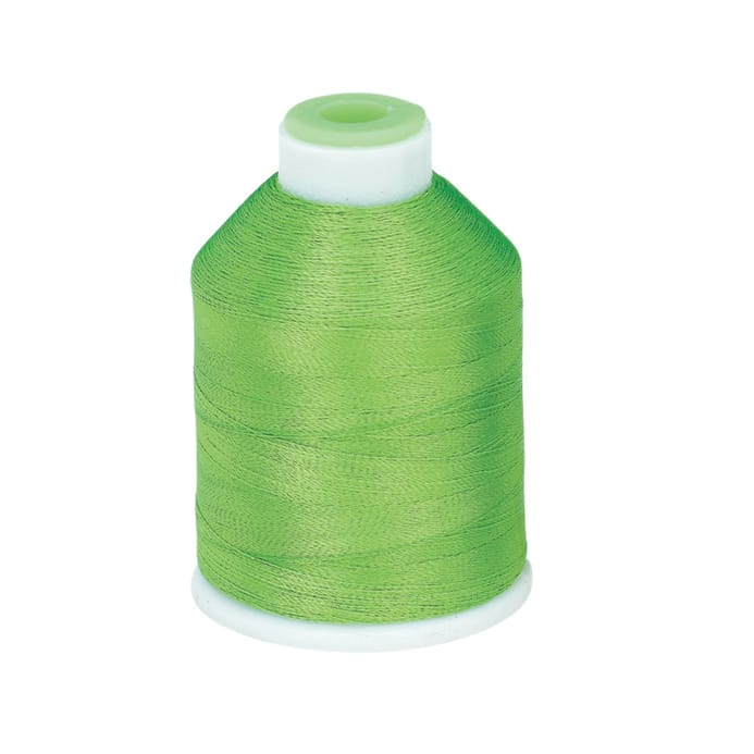 Coats Clark Trilobal Embroidery Thread 1100 Yd Lime Discount