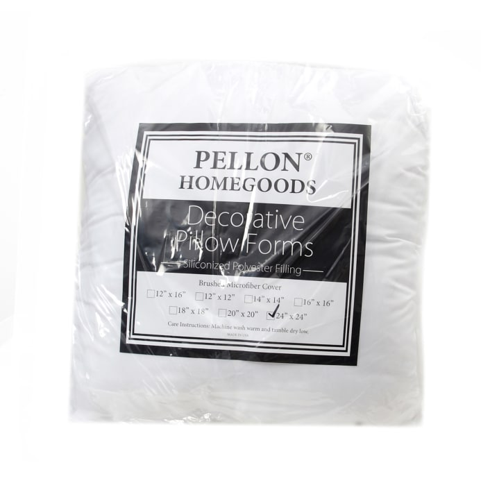 16 X 24 Pillow Insert.Pellon Home Goods Pillow Insert 24 X 24