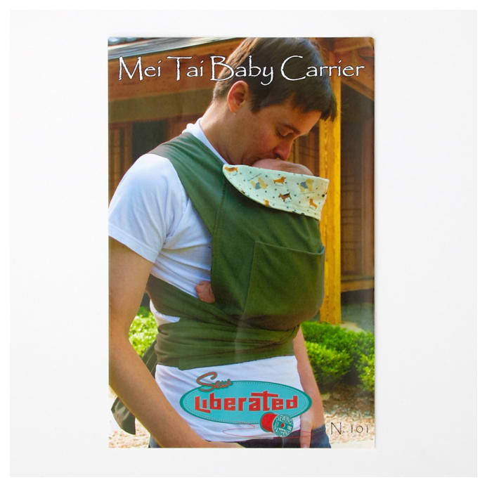 Sew Liberated Mei Tei Baby Carrier Pattern - Discount Designer ...
