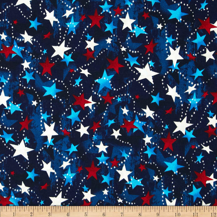 Made In The Usa Stars Red White Blue Discount Designer