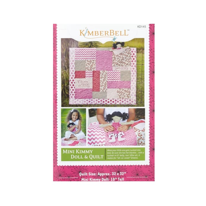 Kimberbell Kids Mini Kimmy Doll And Quilt Pattern Discount
