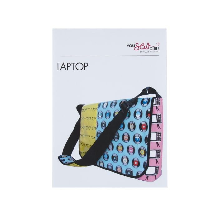 Zoom You Sew Laptop Bag Pattern