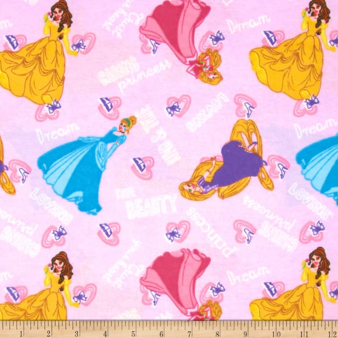 Disney Princess I Am A Princess Flannel Kind And True Word