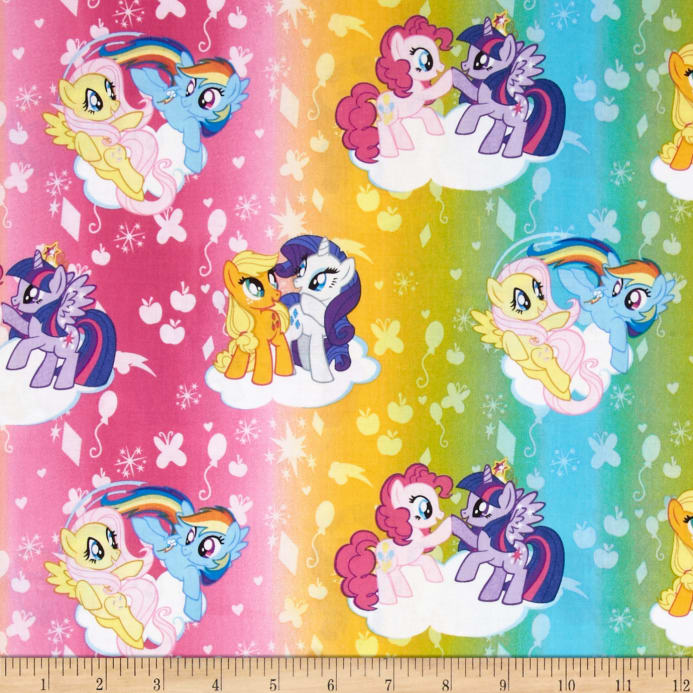 Hasbro My Little Pony Traditional Ombre Toss Multi - Discount ...