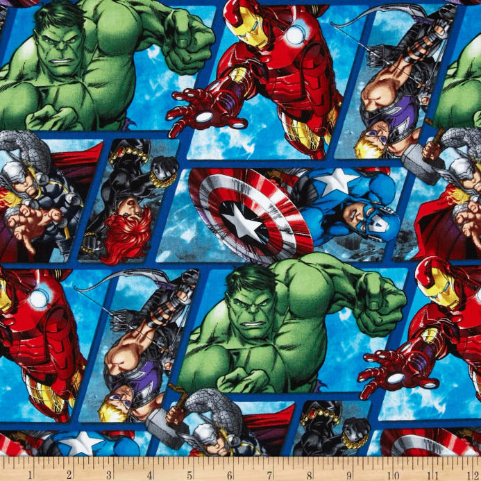 Marvel Avengers Assemble Avenger Grid Multi Discount