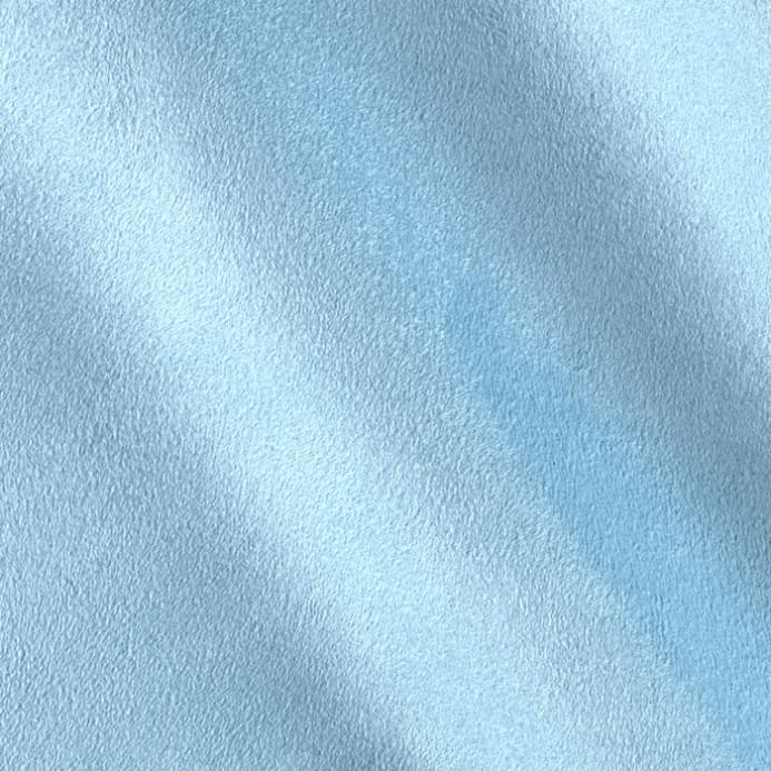 Cuddle Suede Baby Blue Fabric