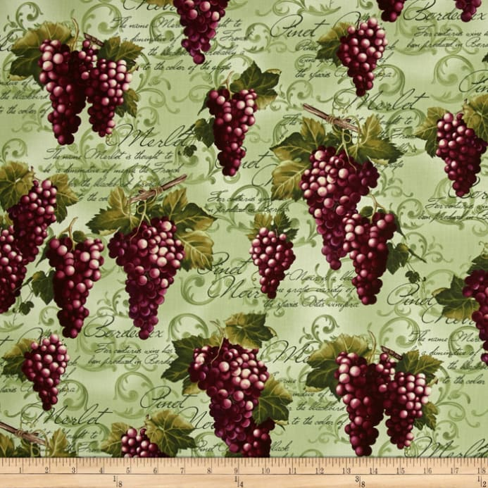 Kanvas wine connoisseur print with grape green discount for Buy grape vines for crafts