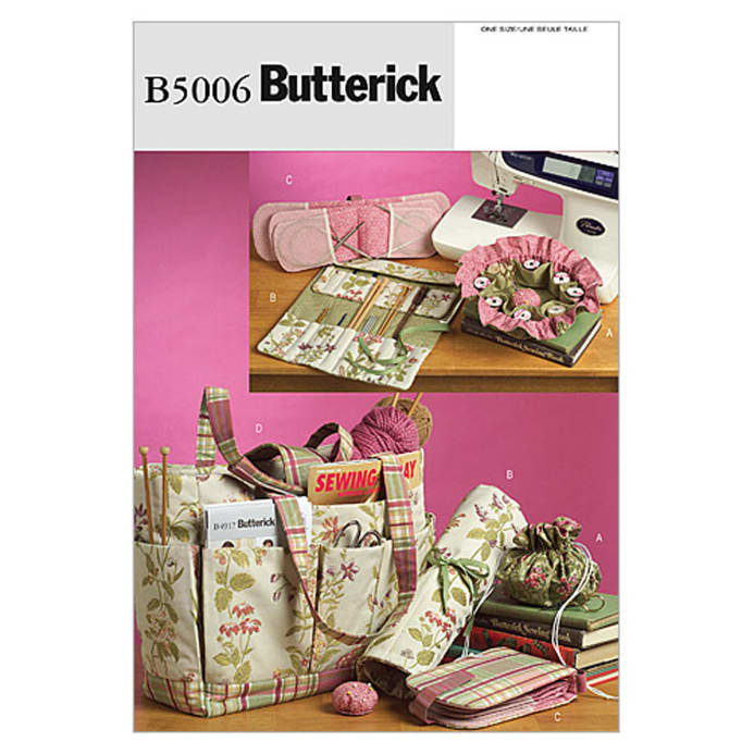 Butterick Sewing and Knitting Tote and Accessories Pattern B5006 ...