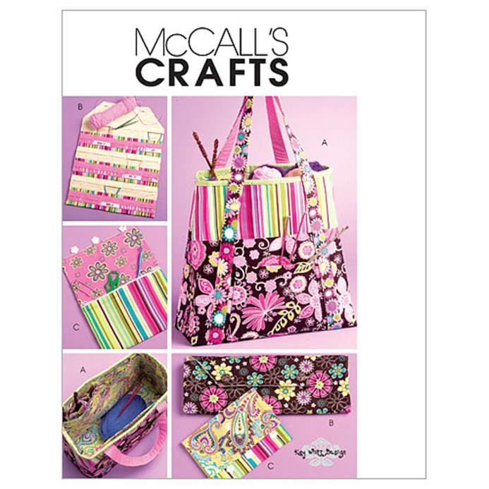 Mccalls Satchel Circular Knitting Needle Organizer And Pouch
