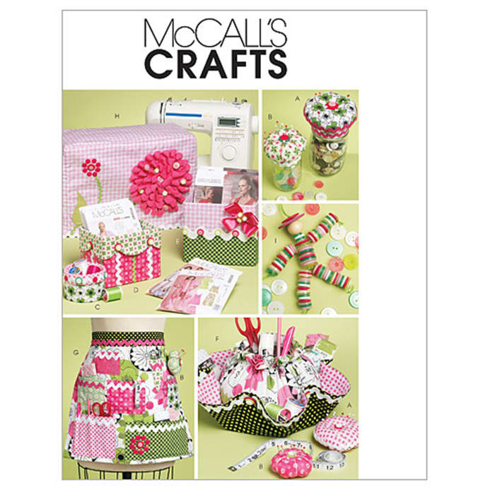 McCall\'s Sewing Machine Cover Pattern Boxes, Container and Organizer ...