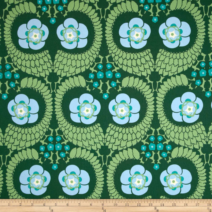 Amy Butler Violette Home Decor Sateen French Twist Pine Discount