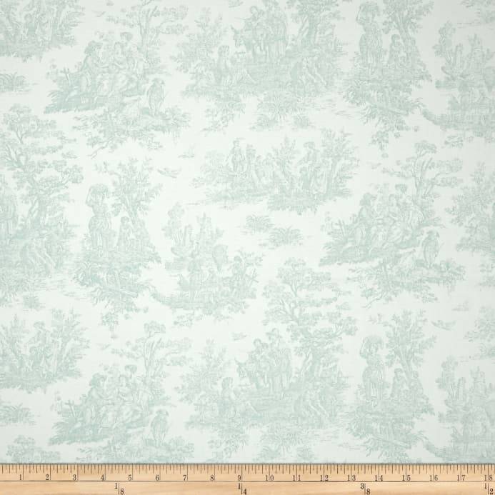 Premier Prints Jamestown Toile Snowy Discount Designer