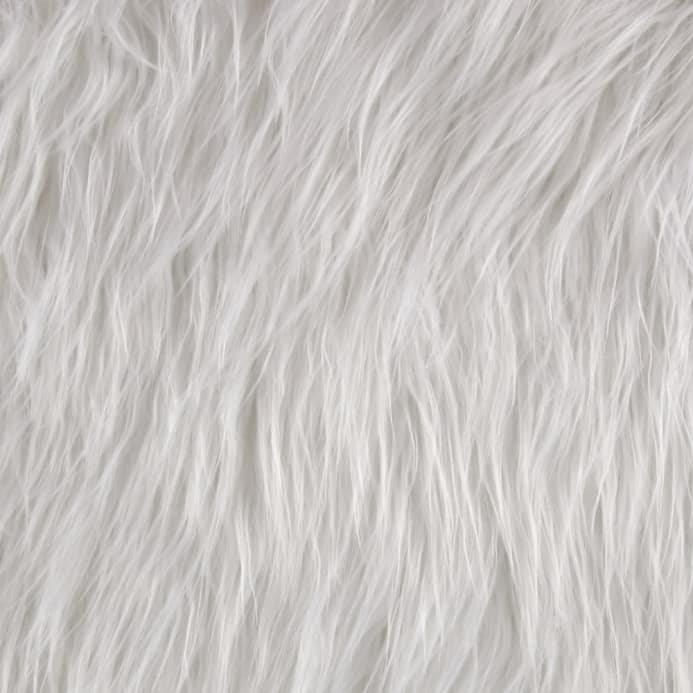 SUPER SOFT IVORY Teddys Super Luxury Faux Fur Fabric Material