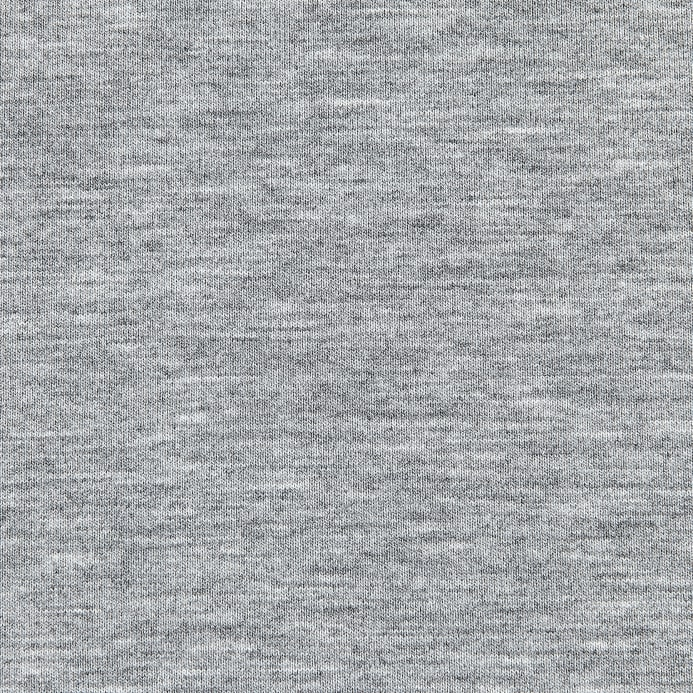 Telio microbrushed ponte knit light grey melange for Light gray color swatch