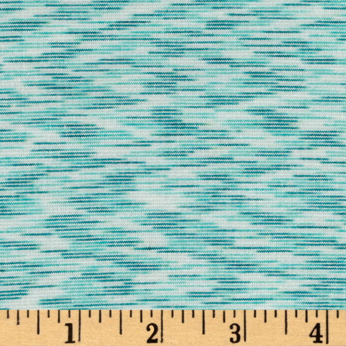 89c2ebf0df8 Space Dye French Terry Jersey Knit Mint - Discount Designer Fabric ...